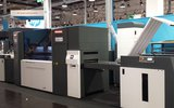 SEI PaperOne 5000 laser - Drupa 2016 - HP booth